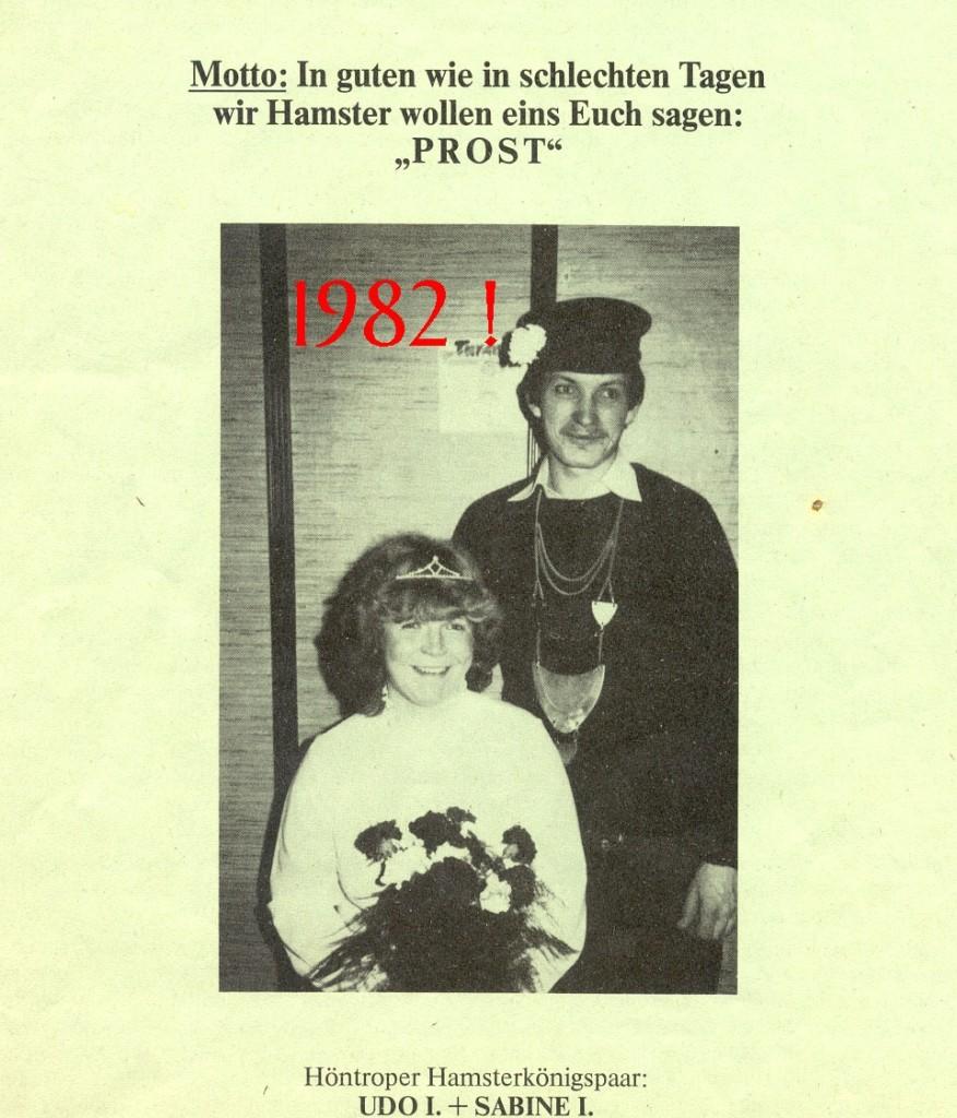 1982 Königspaar