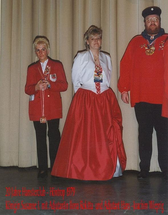 1999 Königin Susanne I.