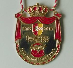 2009-2011 König Peter II. und Königin Hannelore Orden