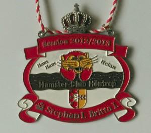 2012-14 König Stephan I. und Königin Britta Orden